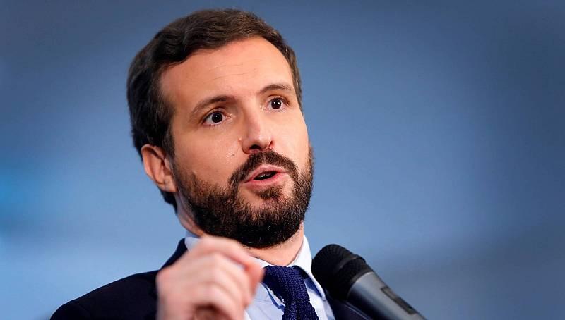 """Casado asegura que la reforma fiscal del Gobierno y ERC """"va contra la Constitución"""""""