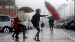 Las lluvias mantienen a Cataluña en aviso naranja