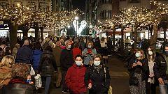 La afluencia de gente en las zonas comerciales de Madrid dificulta el mantener la distancia de seguridad