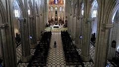 Misa funeral en homenaje a los 62 médicos madrileños muertos durante la pandemia