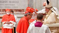 El papa Francisco nombra a 13 cardenales en un acto marcado por la pandemia