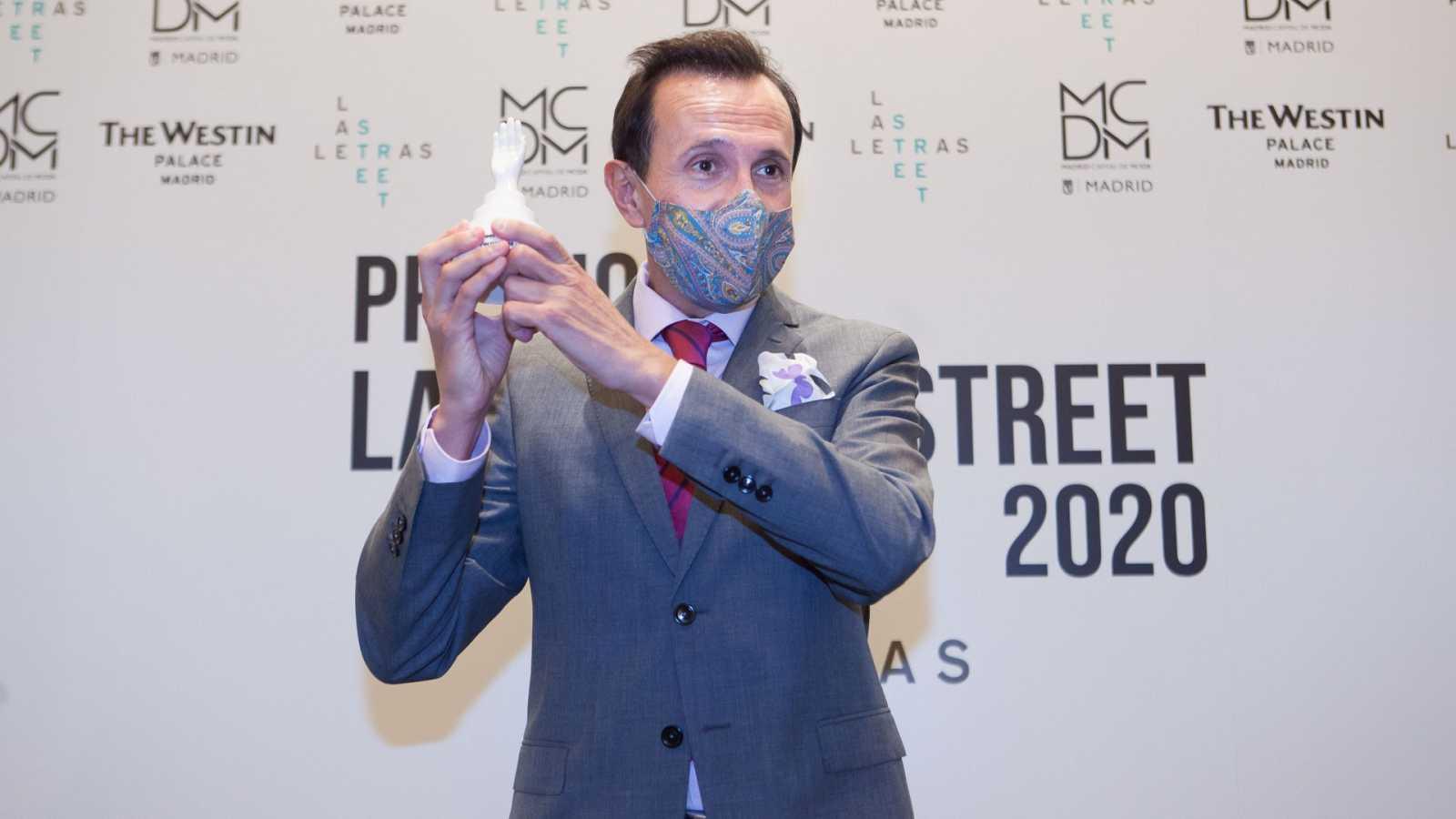 Nuestro director Premio Las Letras Street