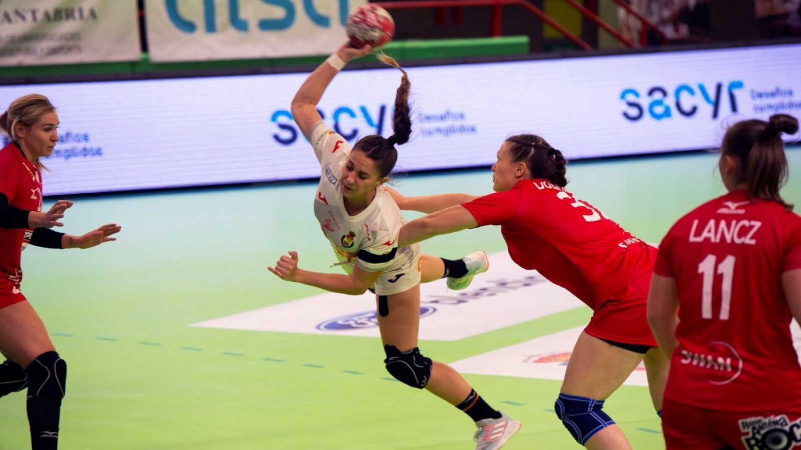 Balonmano - Torneo internacional de España femenino: España - Eslovaquia - ver ahora