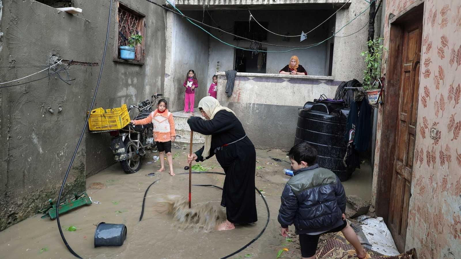 Los palestinos de Gaza sufren tras más de una década de bloqueo israelí