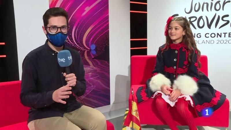 Ya ha llegado el día para Soleá, nuestra representante en Eurovisión Junior - Ver ahora
