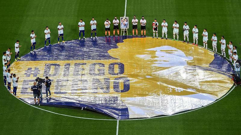 Boca Juniors, Newell's y el Nápoles rinden homenajes a Maradona