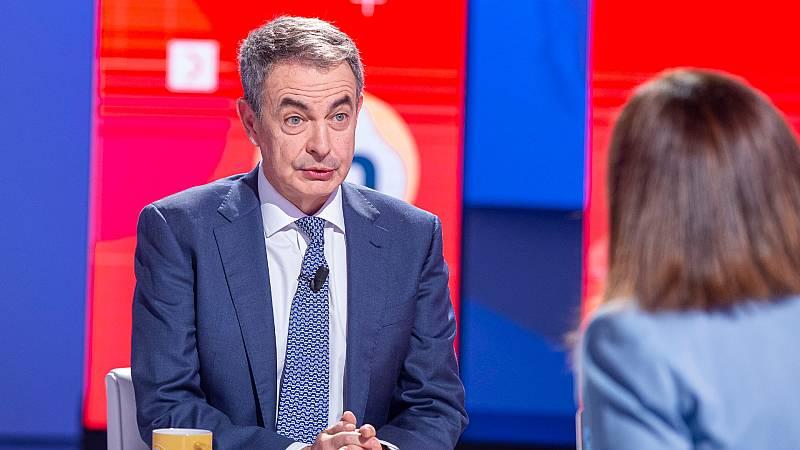 """Zapatero pide """"apoyo y lealtad al Gobierno"""" a antiguos dirigentes críticos como González y Guerra"""