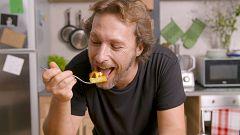 Tofu a la gallega, la genialidad vegana de Gipsy Chef