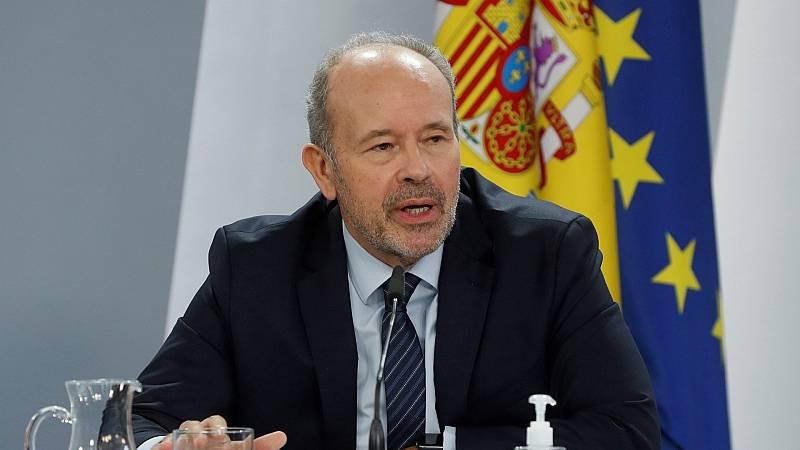 Campo anuncia que la reforma del Código Penal planteará un refuerzo del delito de desobediencia al TC