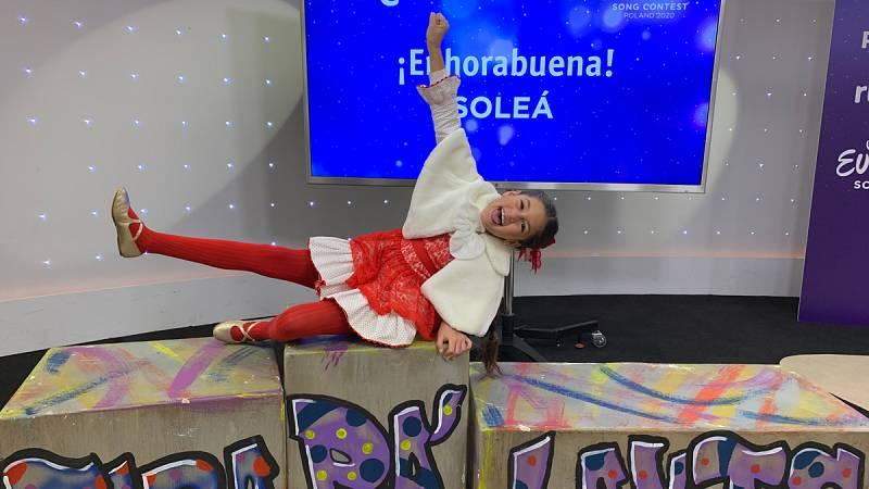 """Eurovisión Junior - Soleá: """"Me gustaría volver a representar a España"""""""