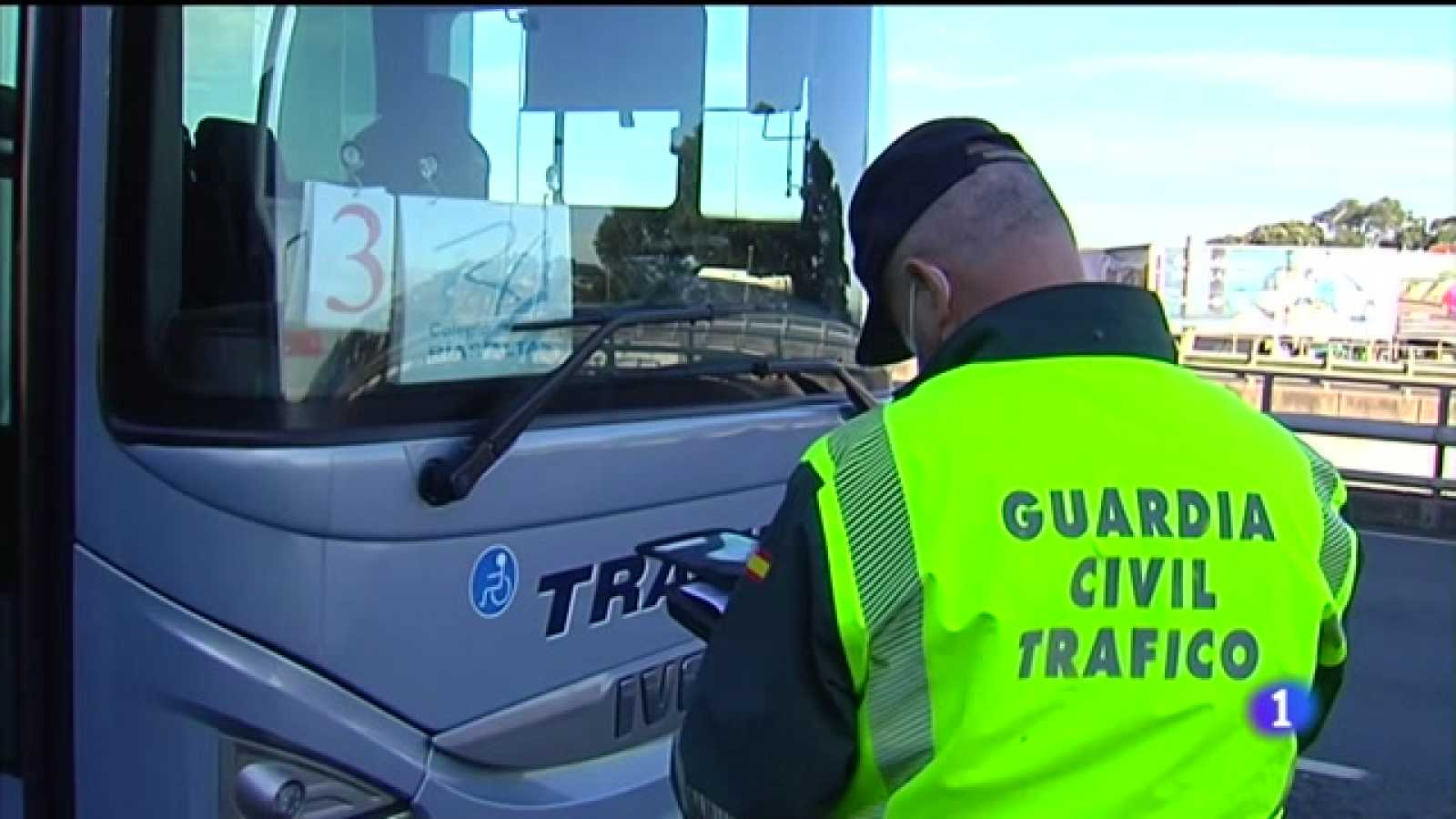 Tráfico controlará a seguridade do transporte escolar galego