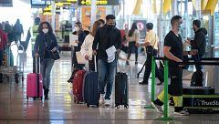 Nuevas rutinas en el aeropuerto con la llegada de la COVID-19