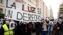 Más de 4.000 vecinos de la Cañada Real llevan dos meses sin luz