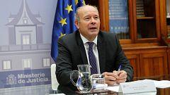"""El ministro Campo da por hecho un acuerdo para renovar el CGPJ a falta de """"hacerlo público"""" y el PP lo niega"""