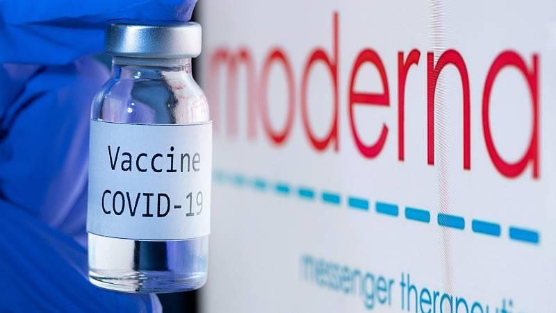 Moderna espera que su vacuna contra la COVID pueda llegar a Europa en enero
