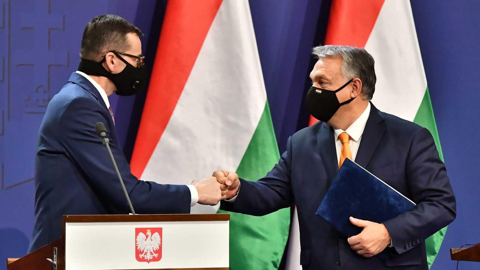 Hungría y Polonia insisten en el veto a los presupuestos europeos