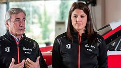 "Laia Sanz: ""Mi objetivo es correr el Dakar con un coche competitivo"""