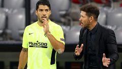 Simeone aún no descarta a Suárez para el Bayern