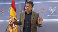 """Errejón, sobre su apoyo a los PGE: """"Es de sentido común, necesitamos unos presupuestos para reconstruir el país"""""""