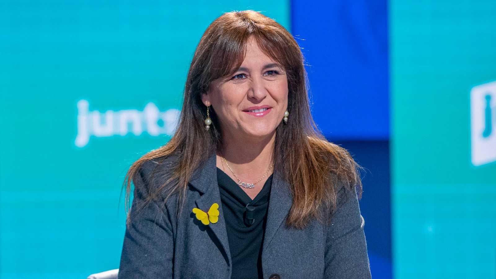 """Laura Borràs critica el apoyo de ERC a los Presupuestos: """"A quien apuntala es al Gobierno, no a Cataluña"""""""