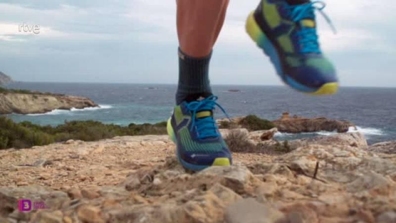Aroa Sío y Donatello Rota se imponen en el '3 días Trail Ibiza'