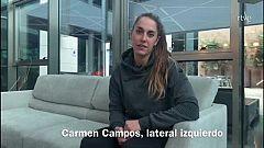 """Carmen Campos: """"Estar en el Europeo es una inmensa alegría"""""""