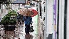 Lluvia fuerte en Canarias y descenso térmico en el centro peninsular