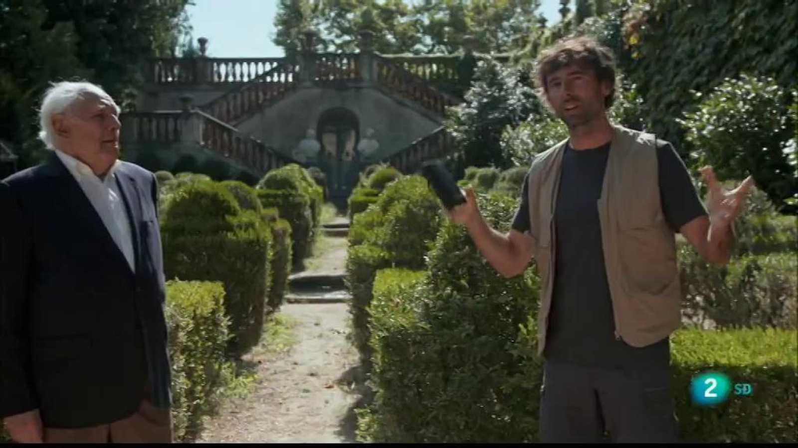 A Perduts en el temps Bruno Oro descobreix el Laberint d'Horta de Barcelona