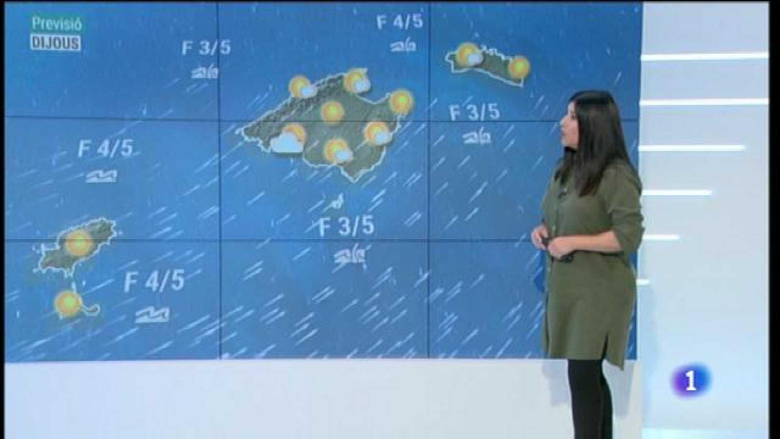 El temps a les Illes Balears - 02/12/20