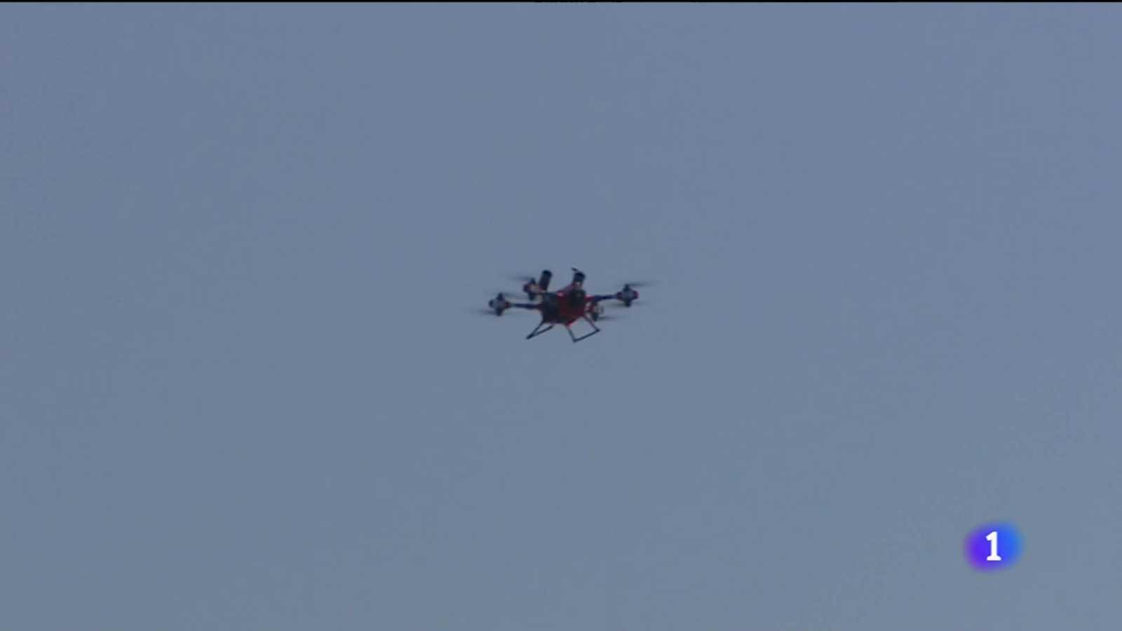 Quatre drons controlaran les restriccions per la Covid a les Balears