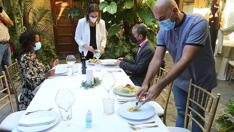 Consejos para una cena navideña segura en tiempos de pandemia
