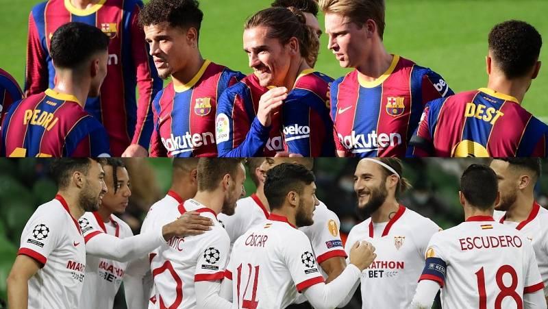 Barça y Sevilla, ante Ferencváros y Chelsea en Champions