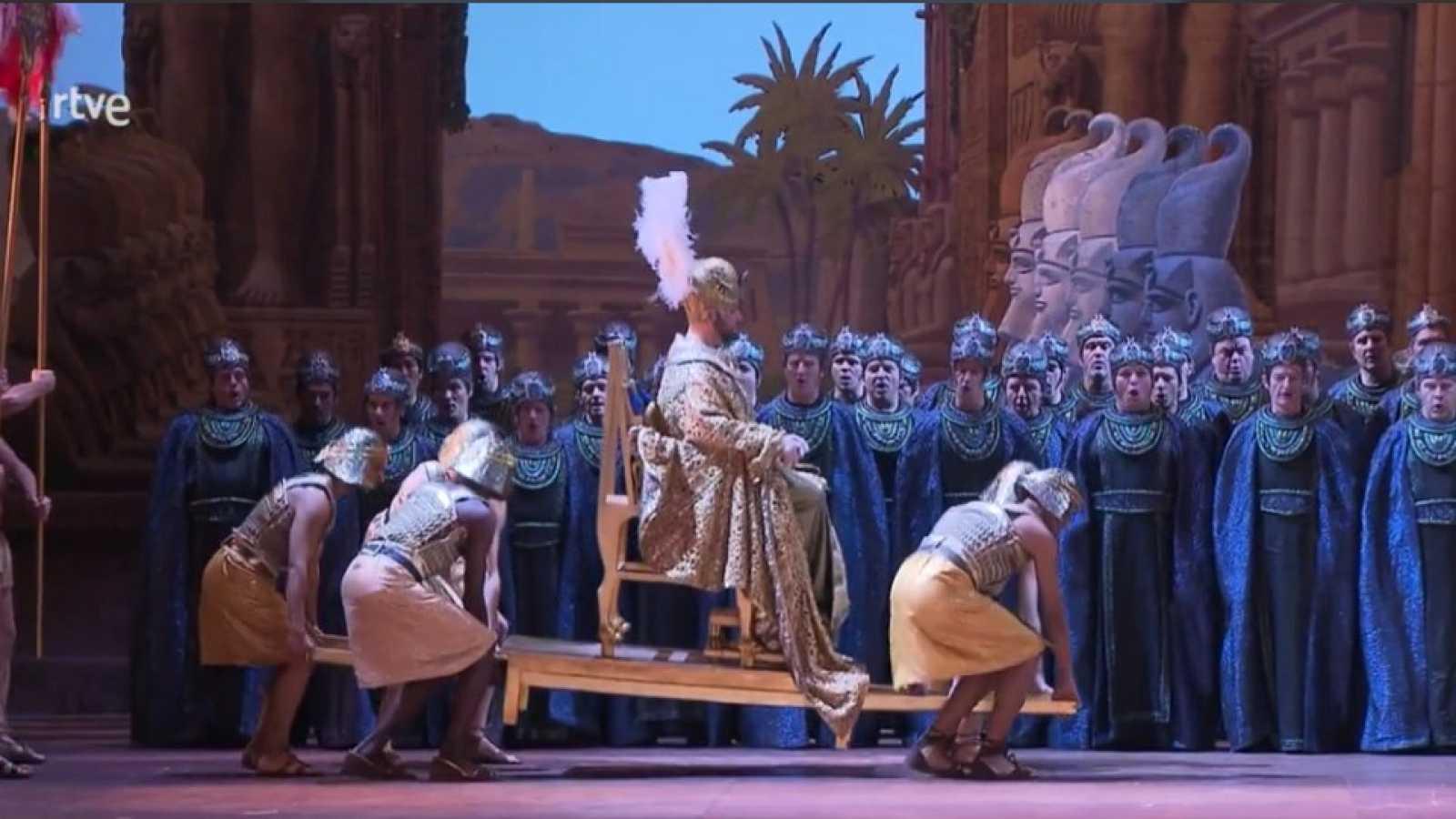 La ópera Aida, de Giuseppe Verdi, en El Palco