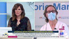 Entrevista a Darío García de Viedma, investigador del Gregorio Marañon sobre la primera reinfeccion por coronavirus