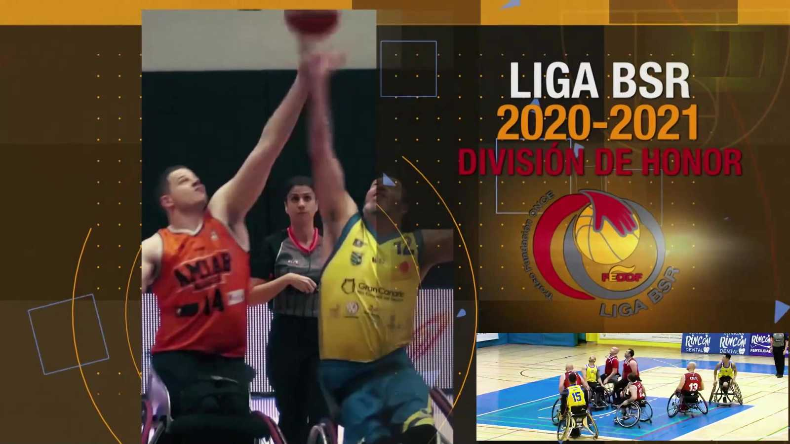 Baloncesto en silla de ruedas - Liga BSR División de Honor. Resumen Jornada 5 - ver ahora