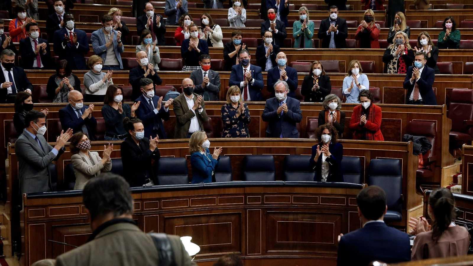 El Congreso da luz verde a los Presupuestos con una amplia mayoría