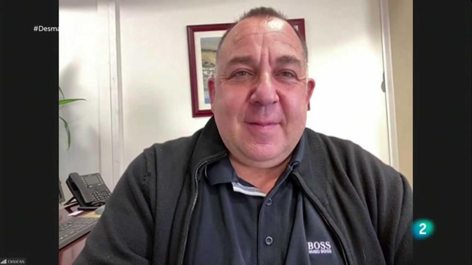 Desmarcats - Oriol Alsina, entrenador de l'UE Llagostera