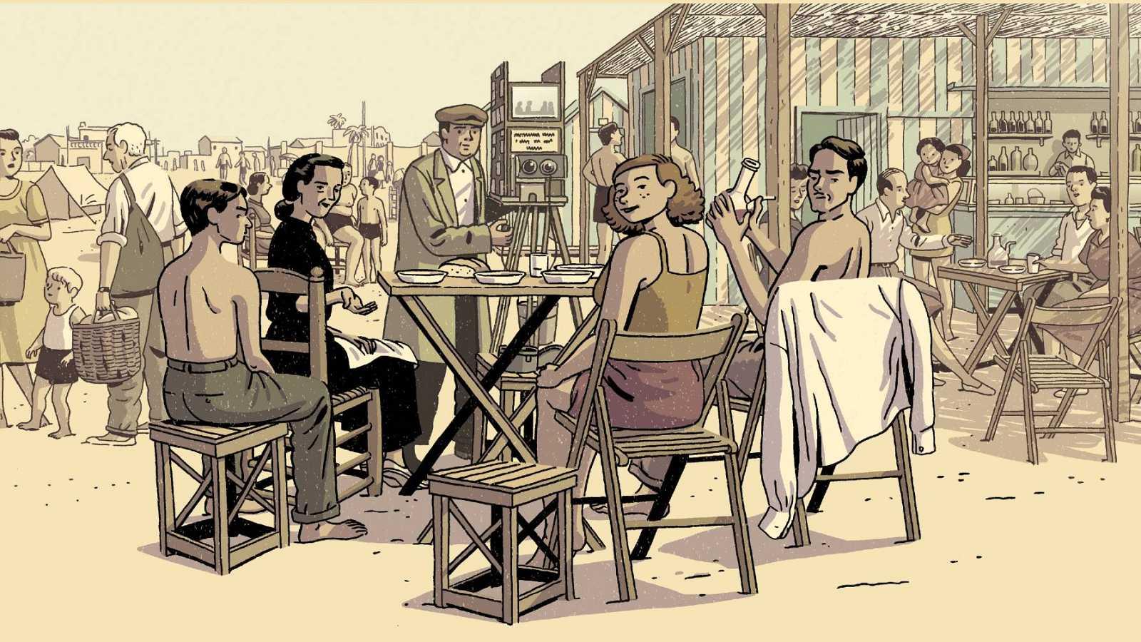 Paco Roca publica su nueva novela gráfica: 'Regreso al Edén'