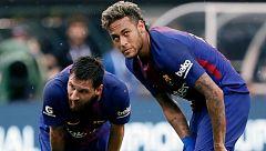 Neymar 'se pide' a Messi para el año que viene