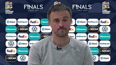 """Luis Enrique: """"Buscamos la competencia constante. El rendimiento será el que dicte qué jugadores estarán en la Eurocopa"""""""