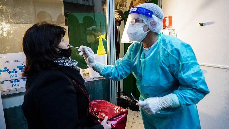 Estados Unidos e Italia registran sus peores datos de fallecidos desde el inicio de la pandemia