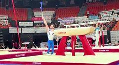 David Gómez, un gimnasta luchando contra la discapacidad