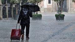 Precipitaciones fuertes en Galicia y en el área cantábrica