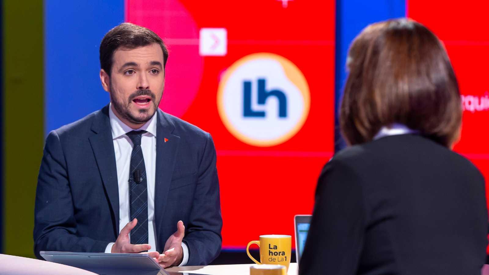 Entrevista íntegra a Alberto Garzón en 'La Hora de la 1'