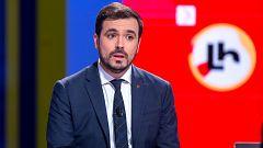 """Garzón pide al rey que se """"desmarque"""" de los militares retirados que critican al Gobierno"""