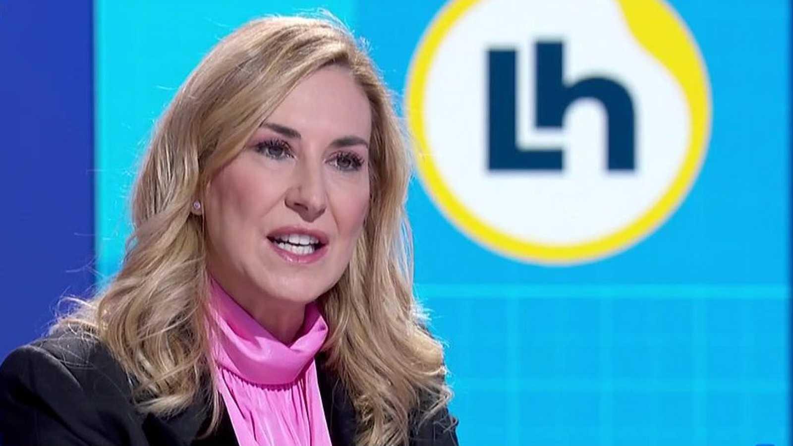 """Ana Beltrán (PP): """"Bildu se va a cobrar el apoyo a los Presupuestos buscanco un referéndum para que Navarra sea anexionada al País Vasco"""""""