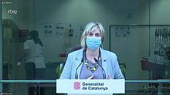 Alba Vergés assegura que Catalunya està preparada per començar a vacunar a partir del gener
