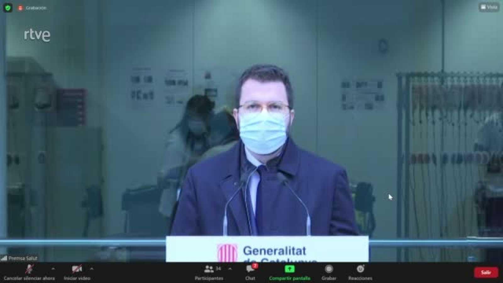 """Pere Aragonès considera una """"venjança política"""" la revocació del tercer grau"""