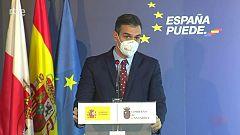 Sánchez prevé que para junio estén vacunados unos 20 millones de españoles