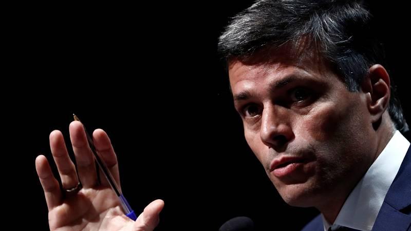 Leopoldo López pide a la comunidad internacional que rechace el resultado de las elecciones en Venezuela